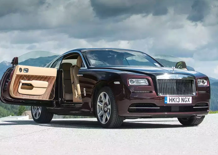 Hire Rolls Royce Wraith UK